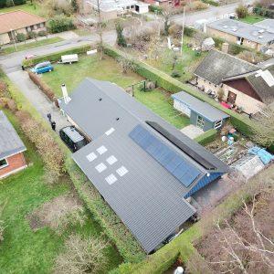 solcelleanlæg 6kW
