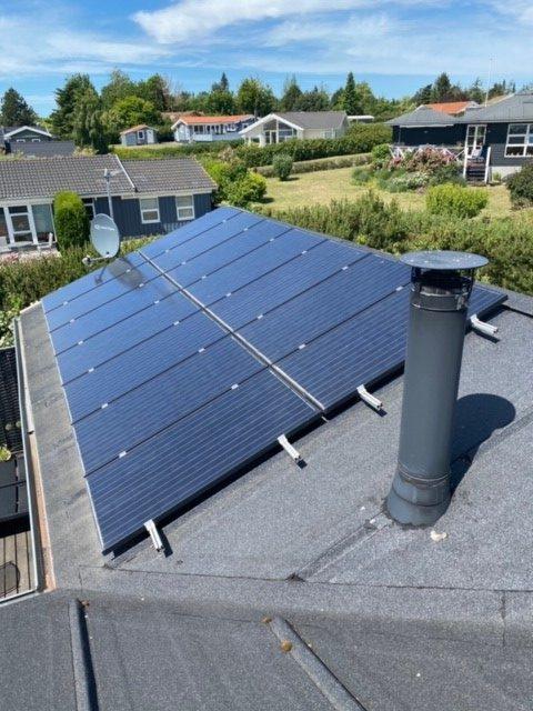 solcelleanlæg 4 kw