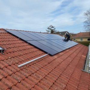 solcelleanlæg 6 kw