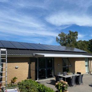 solcelleanlæg 8 kw