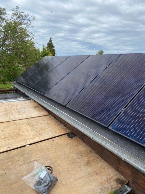 solcelleanlæg 2 kw
