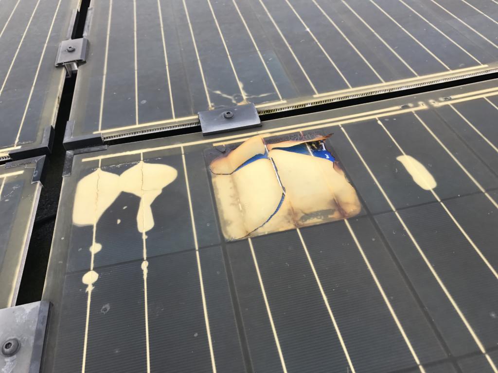 reparation af defekte solcelleanlæg