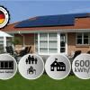 solcelleanlæg 6kW solceller med batteri