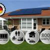 solcelleanlæg 8kW solceller med batteri