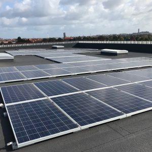 Solcelleanlæg 50kW installeret og monteret