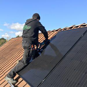 Størrelse solcelleanlæg