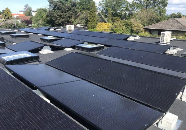 grøn energi solceller på tag